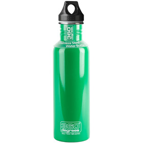 360° degrees Stainless Bidon 750ml, spring green